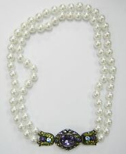 NEW HEIDI DAUS DECO PEARL BEAD NECKLACE  NEW NO TAGS 483-A