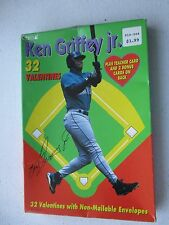 KEN GRIFFEY JR VALENTINES W/ ENVELOPES 32 CARDS + TEACHER & 2 BONUS CARDS