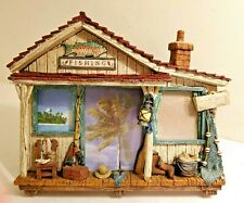 Rustic Fishing Picture Frame Lodge Shack Lake House Man Cave Home Decor