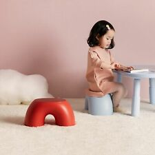 Creative Non-slip  Home Kids Circular Rainbow Bench Strong Utility Foot Stool