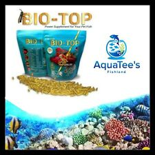 BIO-TOP FISH worms 70g Freeze Dried Tropical Marine Food Fry Blood Worms tank