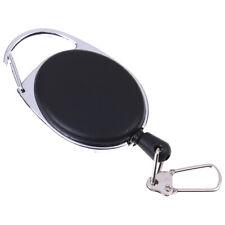1 Pcs Recoil extendable key chain ring clip pull keyring retract RR