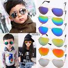 Children Kids Toddler Sunglasses Shades UV400 Boy Girls MIRROR LENS TXCL