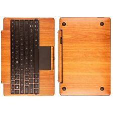 Skinomi Light Wood Full Body Skin for Asus EEE Transformer TF101 Keyboard Dock