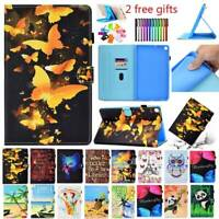 For Samsung Galaxy Tab A 10.1 2019 T515 T510 PU Leather Slim Folio Case Cover