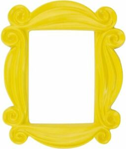 """Friends Peephole Frame Picture Photo Frame Yellow TV Show 7"""" Replica LICENSED"""
