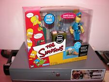 Playmates World Of Springfield The Simpsons WOS Police Station new officer eddie