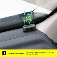 Solar Power Car Alarm System Anti Theft Warning Flash Blinking Fake Security Kit