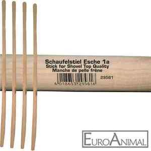 Schaufelstiel Gabelstiel 130cm Esche - 1A Ware Stiele für Schaufel Aluschaufel