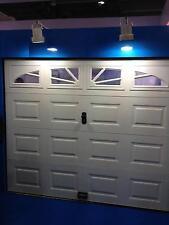 Garagentor Sektionaltor Garagentore,Tore,2540 X 2180 mm weiß,box 4x Fenster!!