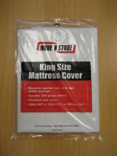 KING SIZE MATTRESS DUST COVER DURABLE PROTECTIVE SHEET