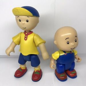 PBS Caillou Figures (lot of 2) 2002 Cinar Sailor & 2009 plastic character toys