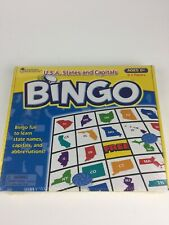 Usa States and Capitals Bingo - Learning Resources Nib Sealed Ages 8+