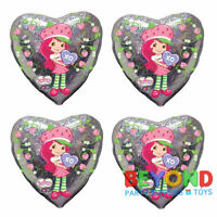Strawberry Shortcake Happy Birthday Party Mylar Foil Balloon 18""