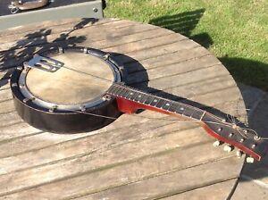 "Banjo  / Banjolin  Reliance No 10 George Houghton, Birmingham 23"" long"