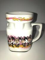 Walt Disney World Minnie Mouse Poses Ceramic Mug Coffee Tea Cup Square Thailand