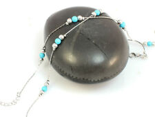 Handmade Turquoise Silver Plated Fashion Jewellery