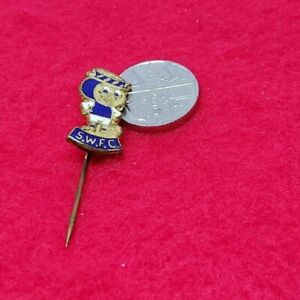 RARE OLD SHEFFIELD WEDNESDAY FOOTBALL CLUB PIN BADGE by FIRMIN (b70)