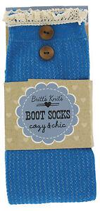 BRITT'S KNITS® - WOMEN'S KNEE HIGH BOOT SOCKS - ADORABLE! NWT!
