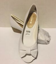 American Eagle Fabric Wedge Size 2.5 Pump - White New