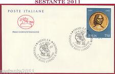 ITALIA FDC CAVALLINO LORENZO MEDICI MAGNIFICO DISEGNO FIORENTINO 1992 S241