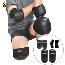 Cycling Knee Elbow Pads Wrist Guards Set Motorcycle Skateboard Protector Gear