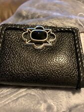 New Brighton Small Black Leather Wallet  Only $35