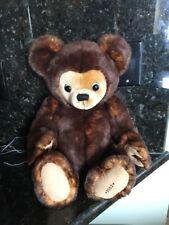 """Authentic Clifford Berryman Brown Plush Medium Size 14"""" Teddy Bear"""
