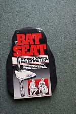 BAT SEAT-SUPPORTS 300LBS/PORTABLE SEAT FOR THE BALL PARK-COLLECTABLE