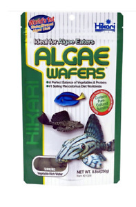 Hikari Algae Wafers 250g Plecos Disc Sinking Fish Food Tropical Spirulina
