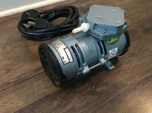 Gast MOA-P109-AA Oilless Diaphram Airbrush Air Pump Compressor 2.1 Amps Tested