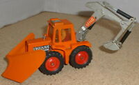 MATCHBOX SUPERKINGS K5 MUIR-HILL 1972 WITH PLOUGH and Driver