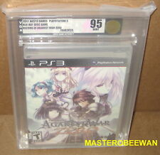 Record of Agarest War Zero (Sony PlayStation 3, 2011) PS3 New Sealed VGA 95 Gold