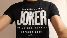 T-shirt JOKER originale Dc Comics 2019 - Official film Joaquin Phoenix - Batman