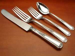 Louis XIV by Towle Sterling Silver 4 piece DINNER SIZE setting, French Blade