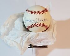 Official Baseball, American League, Mickey Mantle (New York Yankees)