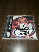 Knockout Kings 2000 (Sony PlayStation 1, 1999) PS1 CIB