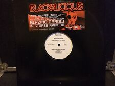 "Blackalicious 12"" Make You Feel That Way VG+ Promo"
