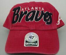 a5747a6deb553 Atlanta Braves MLB Baseball Snapback Hat by 47 Forty Seven Brand Free Ship