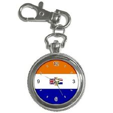 OLD SOUTH AFRICA FLAG KEYCHAIN WATCH **FANTASTIC ITEM**