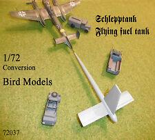 Schlepptank mit Tragflächen      1/72 Bird Models Umbausatz / resin conv.