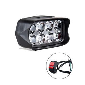 LED Scheinwerfer Projektor 12W Super Helle Motorrad Licht Nebelscheinwerfer Weiß