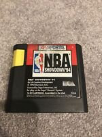 NBA Showdown '94 (Sega Genesis, 1994) Working Game Only