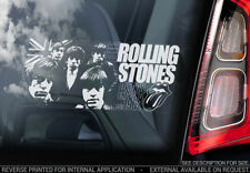Rolling Stones Rock Music Stickers
