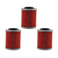 3X Oil Filters For Aprilia RSV 1000 R RSV Mille R 998 Tuono 998 Tuono 1000 R