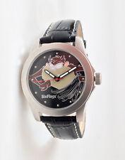 Mint Six Flags 36mm Tasmanian Devil Taz Silver-Tone Watch. Works great!