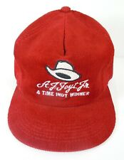 A.J. Foyt 4 Time Indy Winner Collector Snapback Hat Indy 500