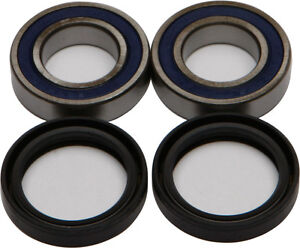 Front Wheel Bearing Seal kit 01 02 03 04 05 06 07 08 Suzuki RM125 RM250