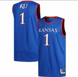 Adidas Kansas Jayhawks Swingman Basketball Men's XL Jersey DY7744 MSRP $80