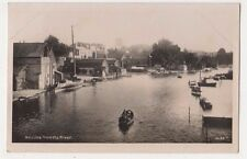 Beccles from The River Suffolk RP Postcard, B689